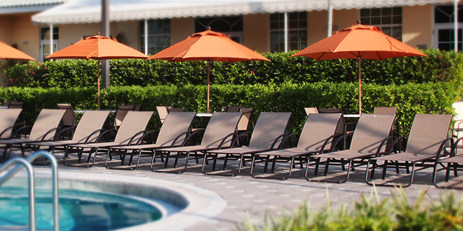 MONTAGEComfortable wide arm and graceful curves. - Outdoor Furniture Patio, Pool, Hotels, Condos And Apartments